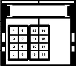 Diagrama para comandos de volante resistivos 2