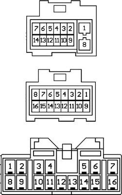 Diagrama para comandos de volante resistivos 6
