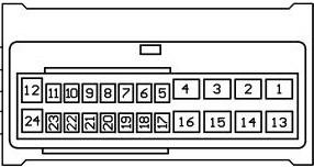 Diagrama para comandos de volante resistivos 12