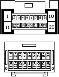Diagrama para comandos de volante resistivos 21