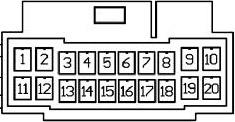 Diagrama para comandos de volante resistivos 28