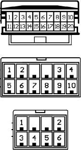 Diagrama para comandos de volante resistivos 26