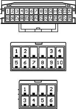Diagrama para comandos de volante resistivos 27