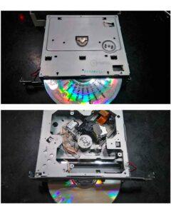 No disc, defeitos no DVD 1