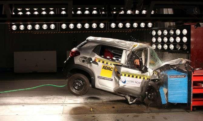 crash test kwid