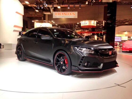 Novo Civic Type R