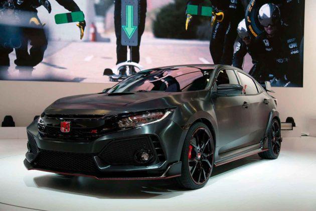Novo Civic Type R 2018 aparece no Salão de Paris [2016 Paris Motor Show] 3