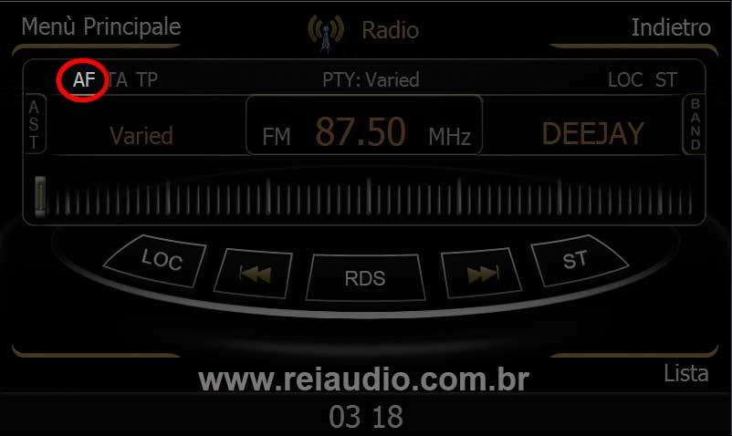 Problemas com rádio AM e FM em Centrais Multimídias 3