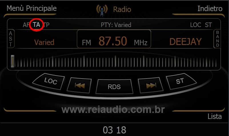 Problemas com rádio AM e FM em Centrais Multimídias 5