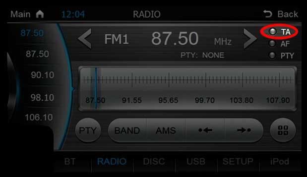 Problemas com rádio AM e FM em Centrais Multimídias 6