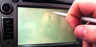 calibrar touch screen