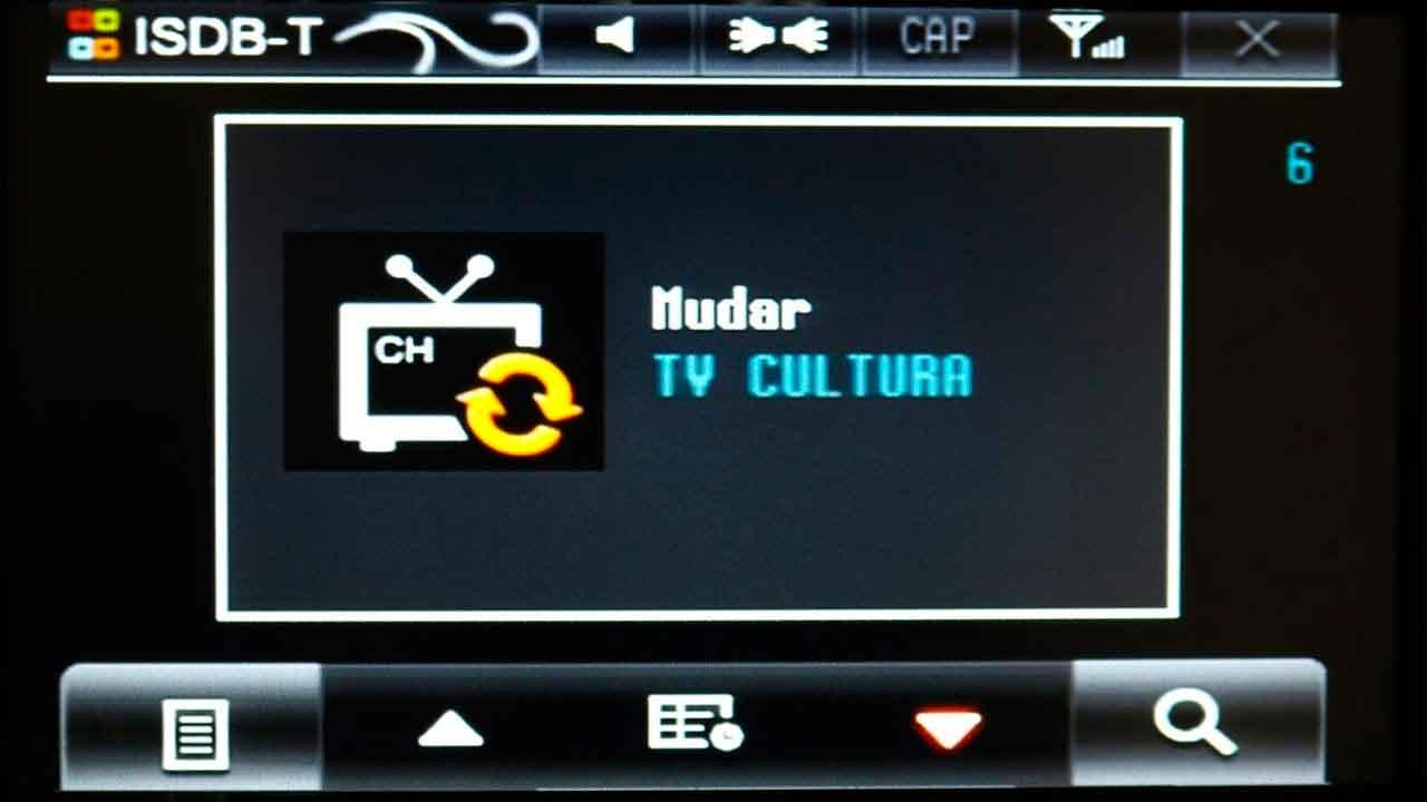 TV digital travando em Centrais multimidias - Reiaudio