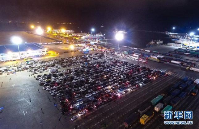 Engarrafamento na China com mais de 10 mil carros 1