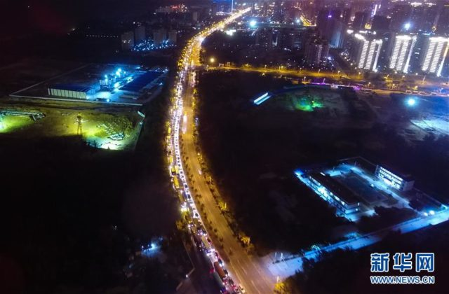 Engarrafamento na China com mais de 10 mil carros 3