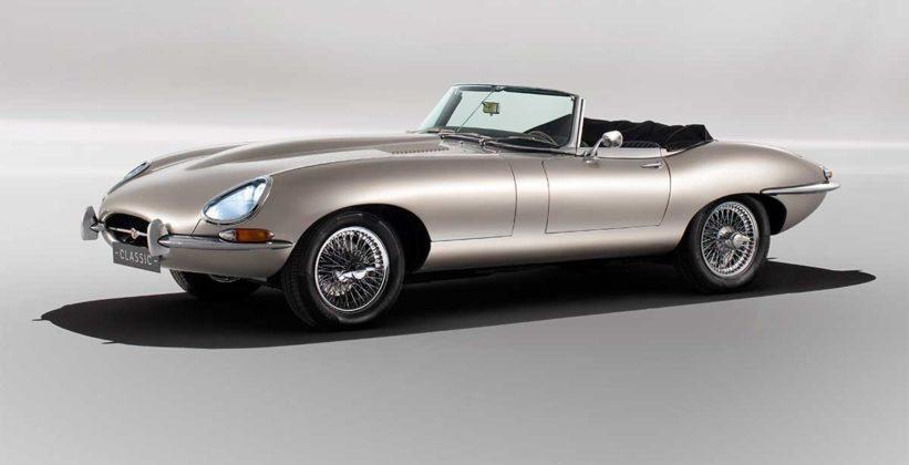 Jaguar Classic construirá veículos elétricos com zero emissão de poluentes 2