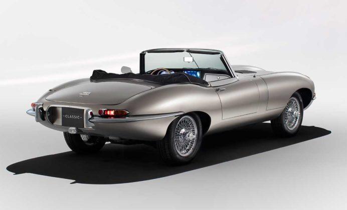 Jaguar Classic construirá veículos elétricos com zero emissão de poluentes 3