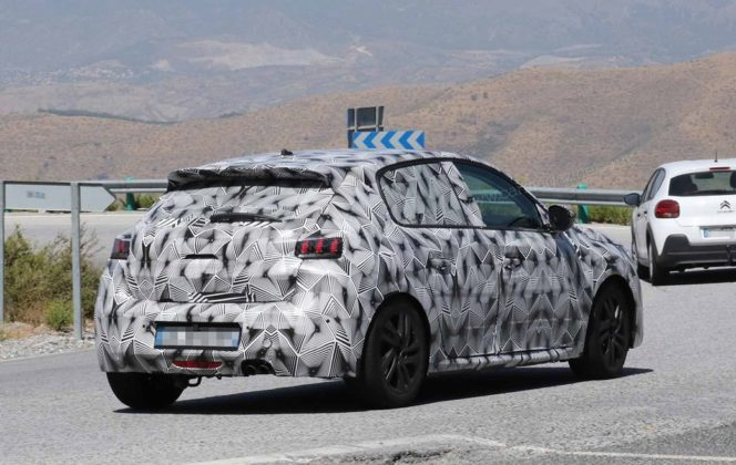 Novo Peugeot 208 2019 em testes na Europa e com Versão Elétrica 2