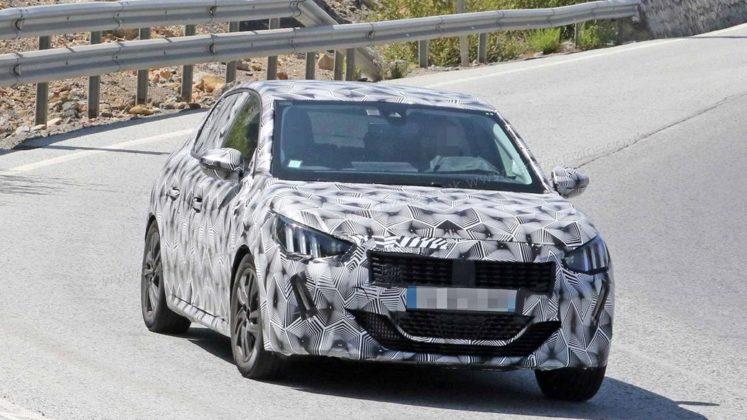 Novo Peugeot 208 2019 em testes na Europa e com Versão Elétrica 3