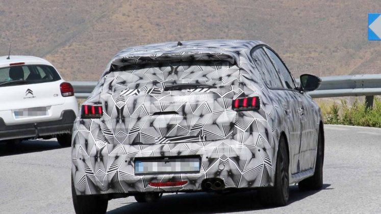 Novo Peugeot 208 2019 em testes na Europa e com Versão Elétrica 5