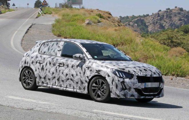 Novo Peugeot 208 2019 em testes na Europa e com Versão Elétrica 1