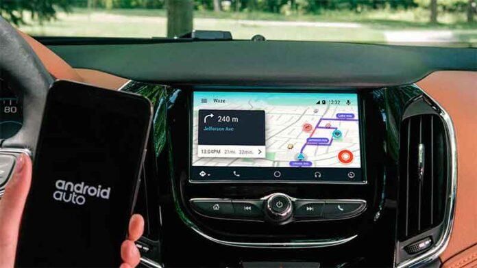 waze android auto yaris