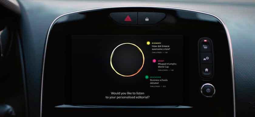 Renault Apresenta o Futuro das Centrais Multimídias 1