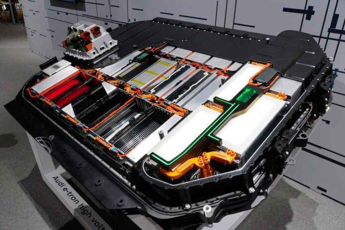 reciclagem bateria audi etron