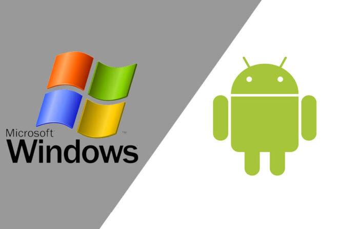 windows ce vs android