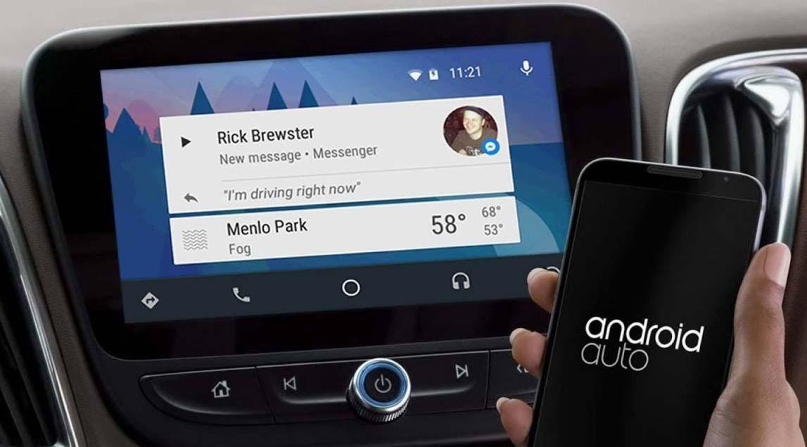 diferença entre android auto e android automotive